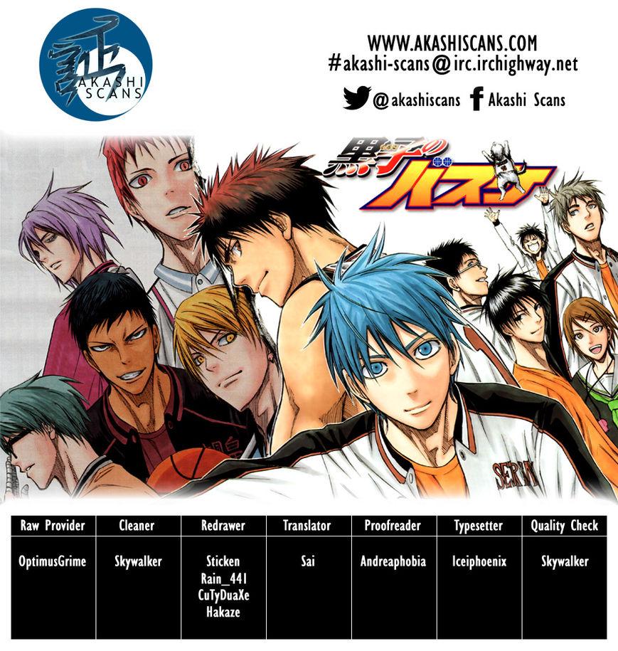 Kuroko no Basket 272 Page 1