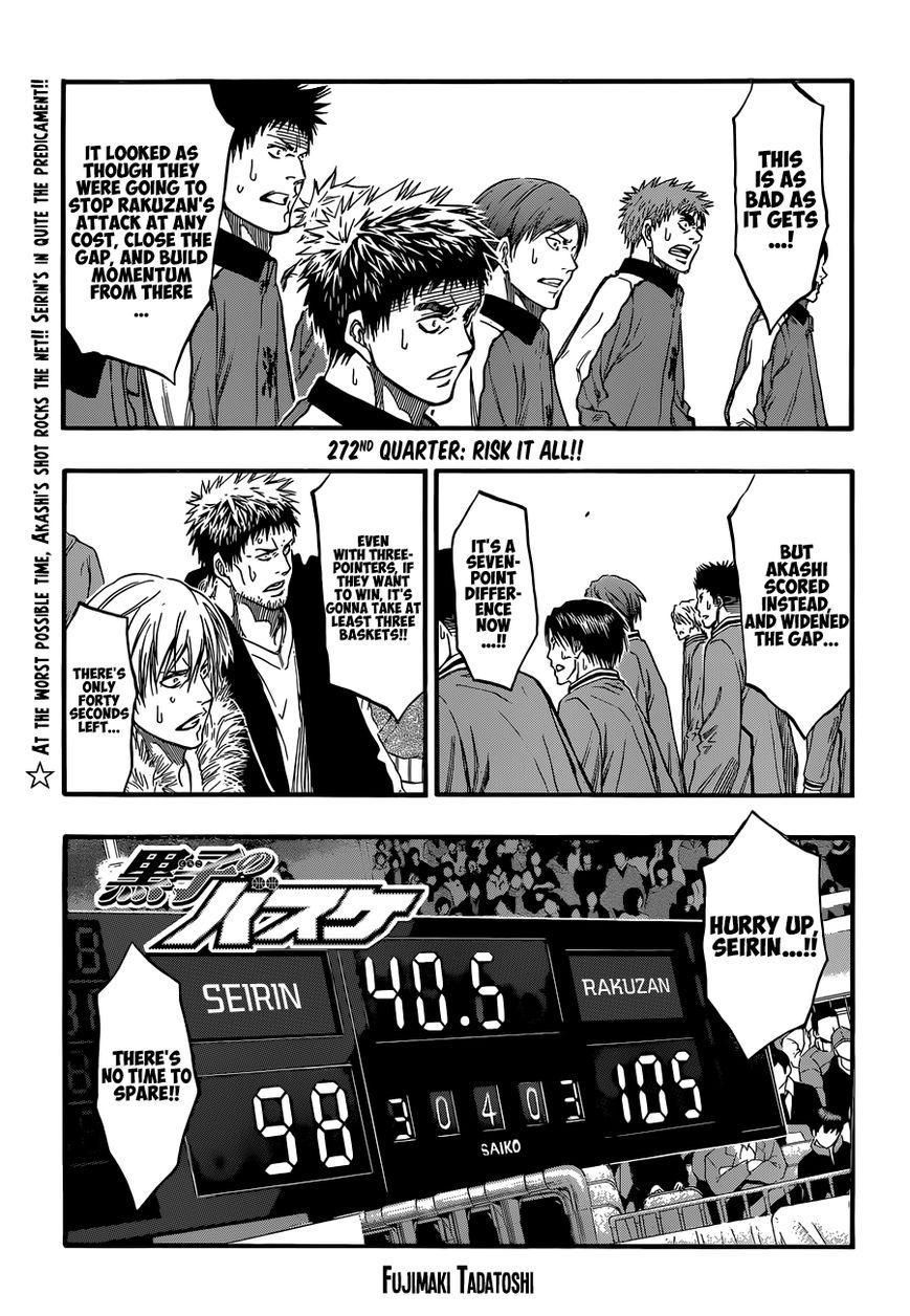 Kuroko no Basket 272 Page 2