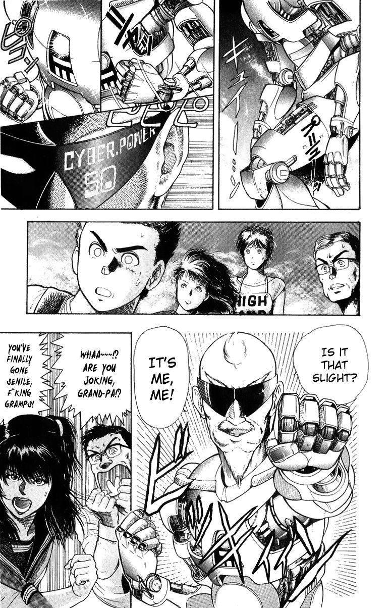 Cyborg Grandpa G 31.5 Page 2