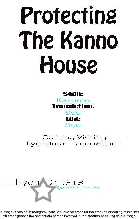 Protecting The Kanno House 1 Page 1