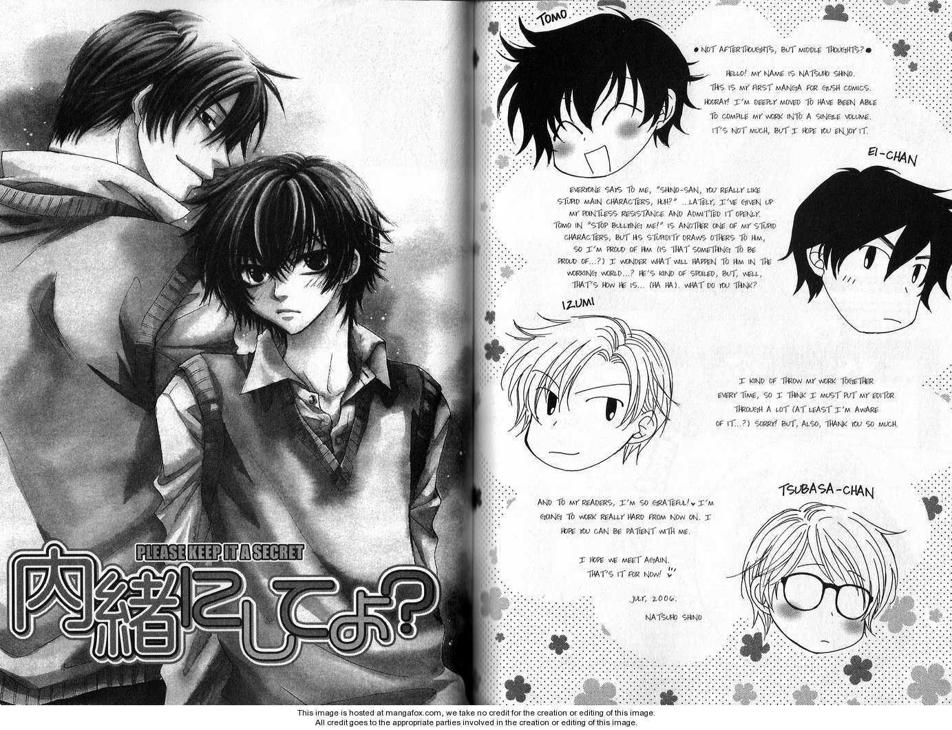 Ijiwaru na Aitsu 4 Page 1