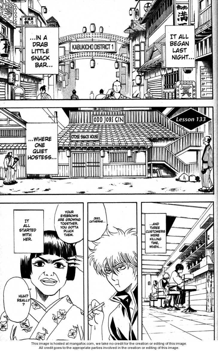 Gintama 133 Page 1