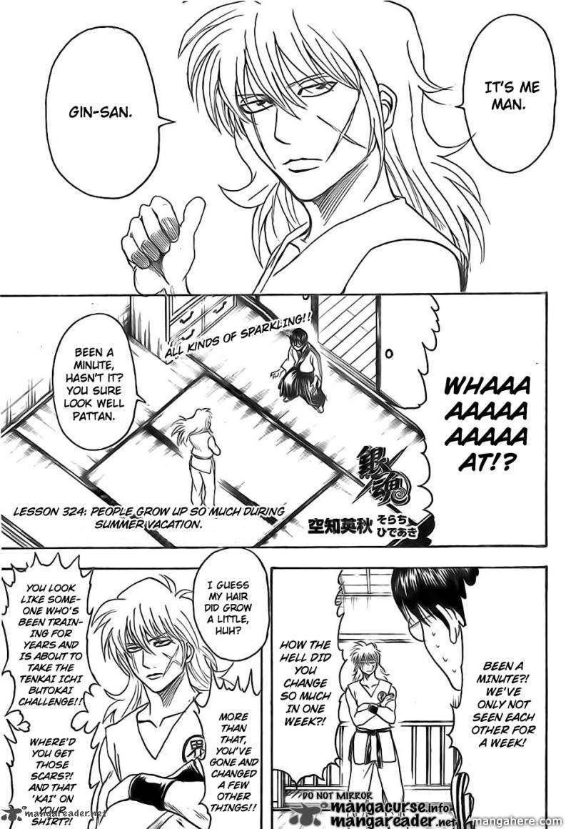 Gintama 324 Page 4