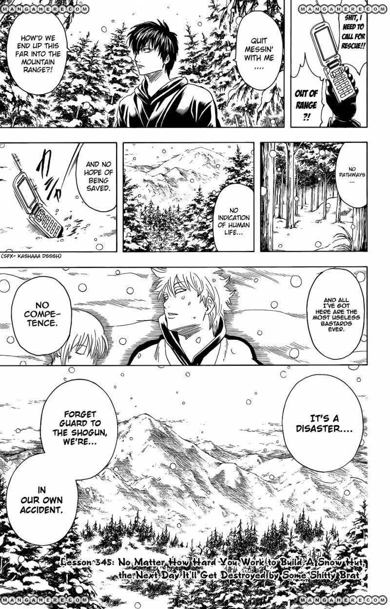 Gintama 345 Page 3