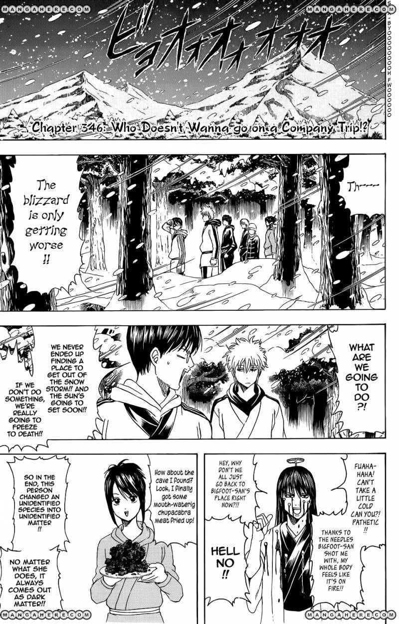 Gintama 346 Page 1