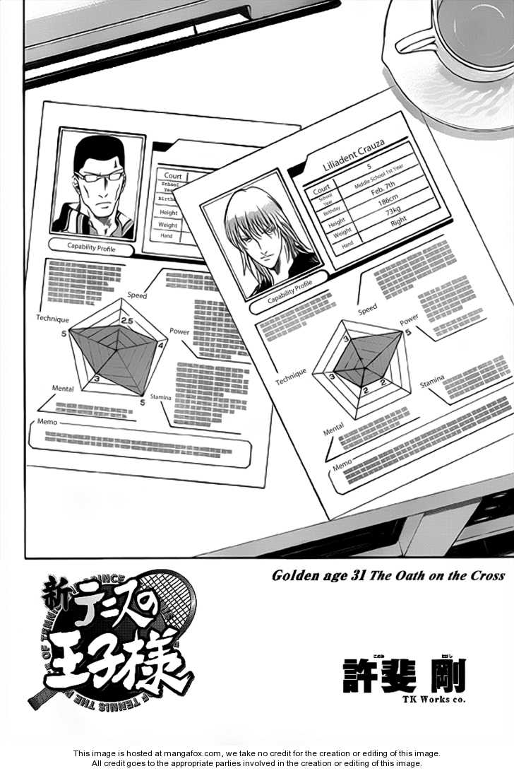 New Prince of Tennis 31 Page 2
