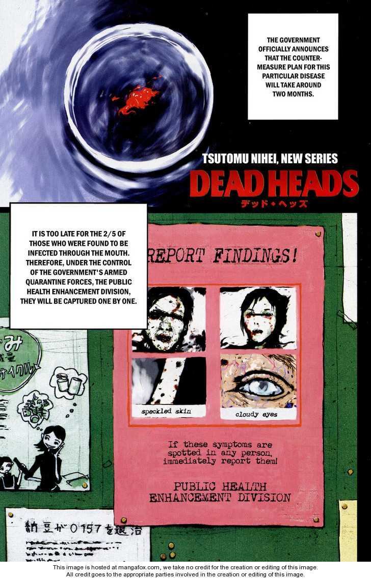 Dead Heads 1 Page 1