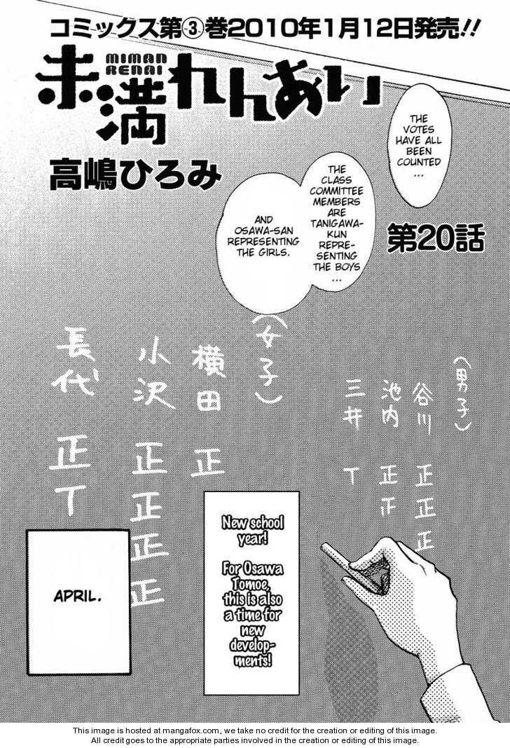 Miman Renai 20 Page 1