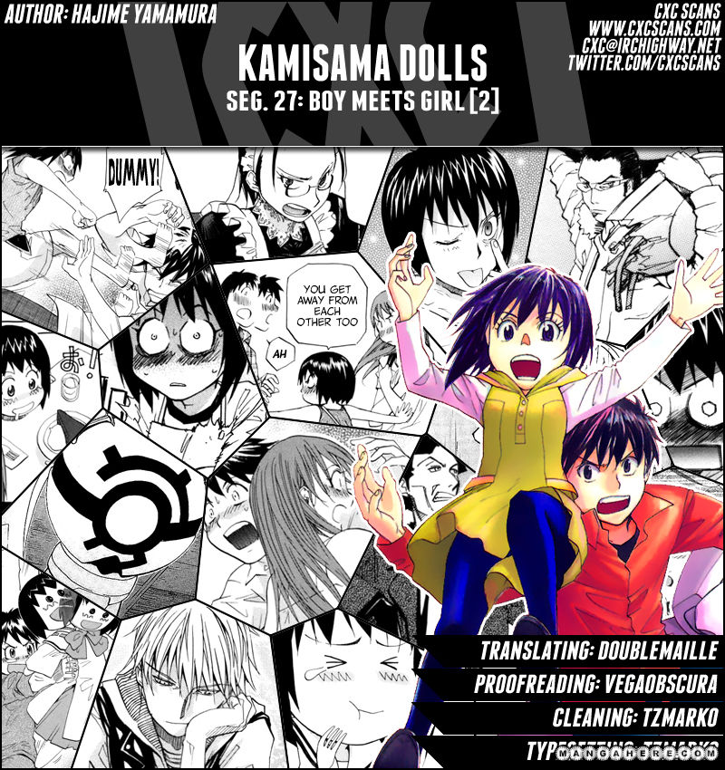 Kamisama Dolls 27 Page 1