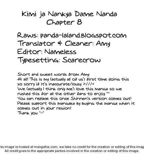 Kimi ja Nakya Dame Nanda 8 Page 1