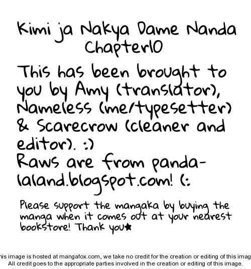Kimi ja Nakya Dame Nanda 10 Page 1