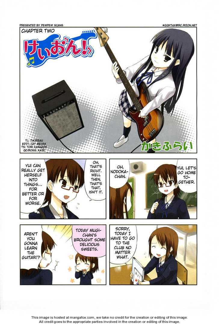 K-ON! 2 Page 1