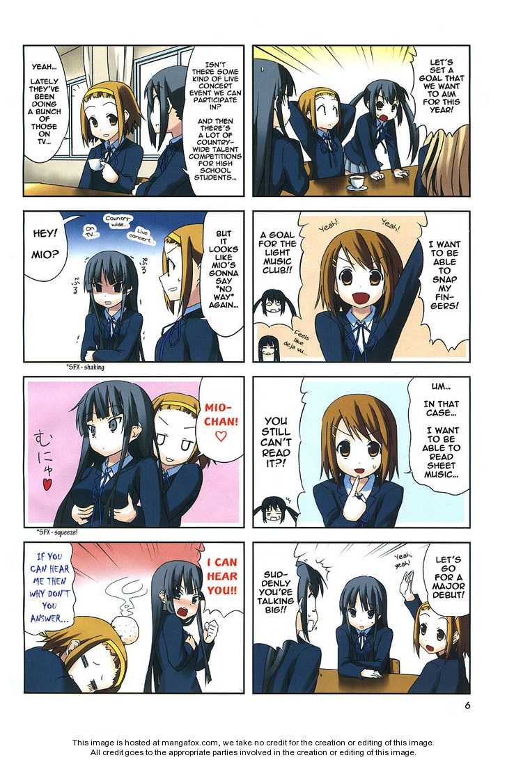 K-ON! 1 Page 2