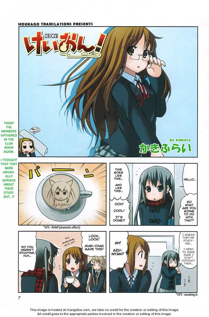 K-ON! 6 Page 1
