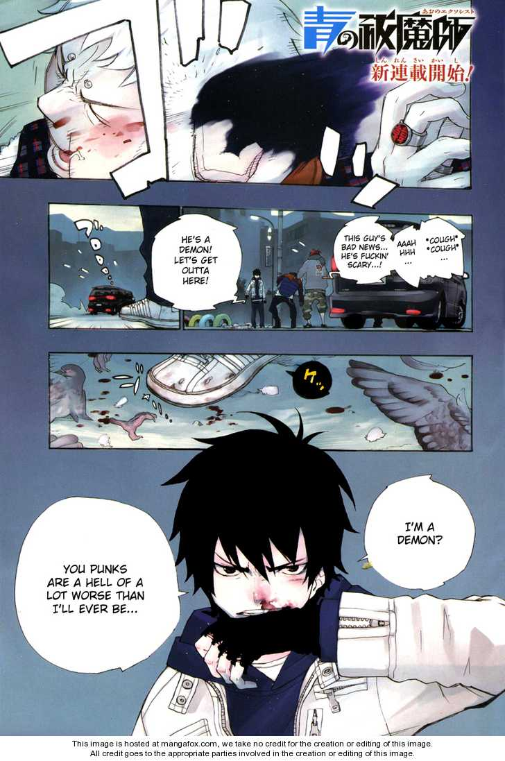 Ao no Exorcist 1 Page 1