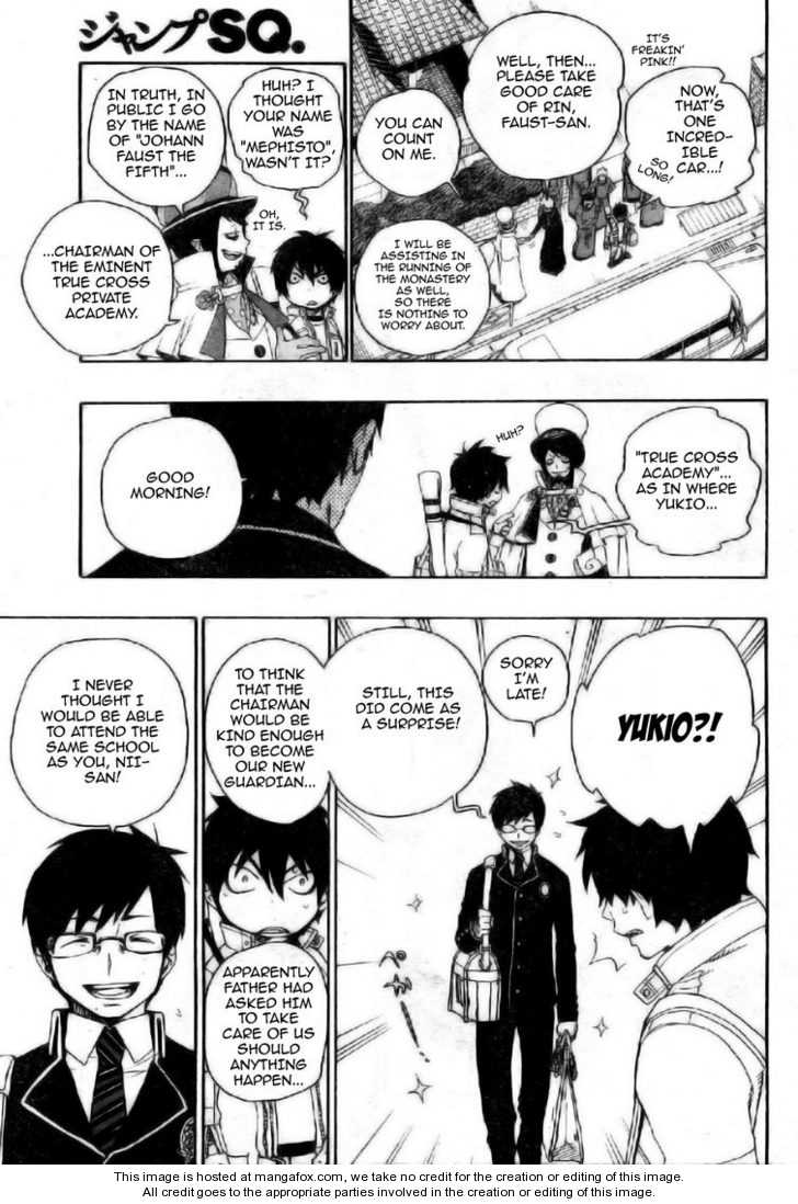 Ao no Exorcist 2 Page 3