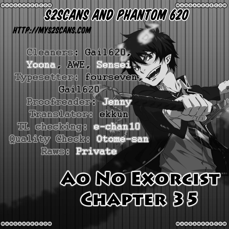 Ao no Exorcist 35 Page 1