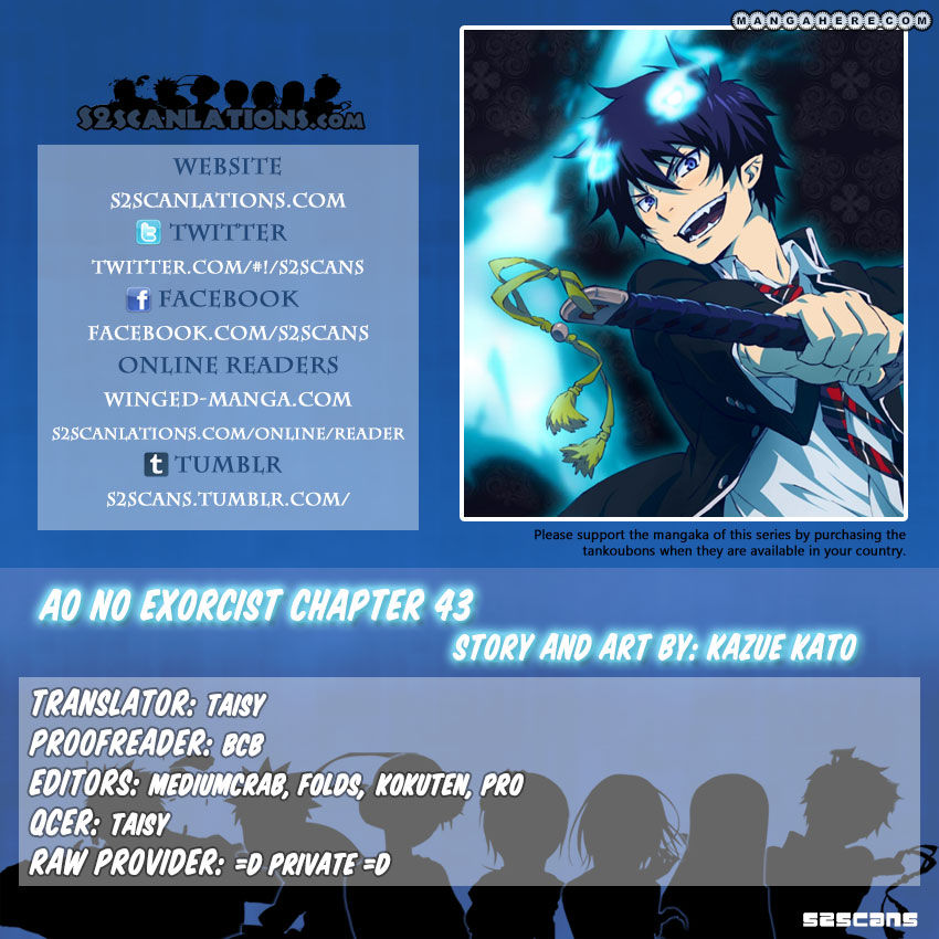 Ao no Exorcist 43 Page 1