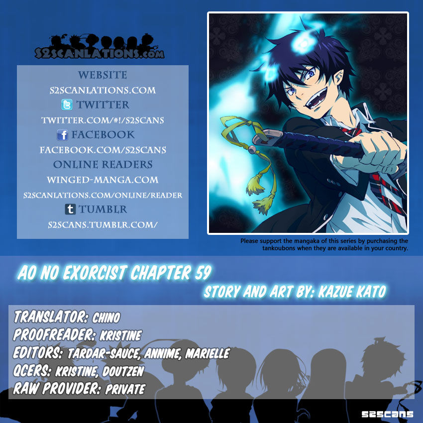 Ao no Exorcist 59 Page 1