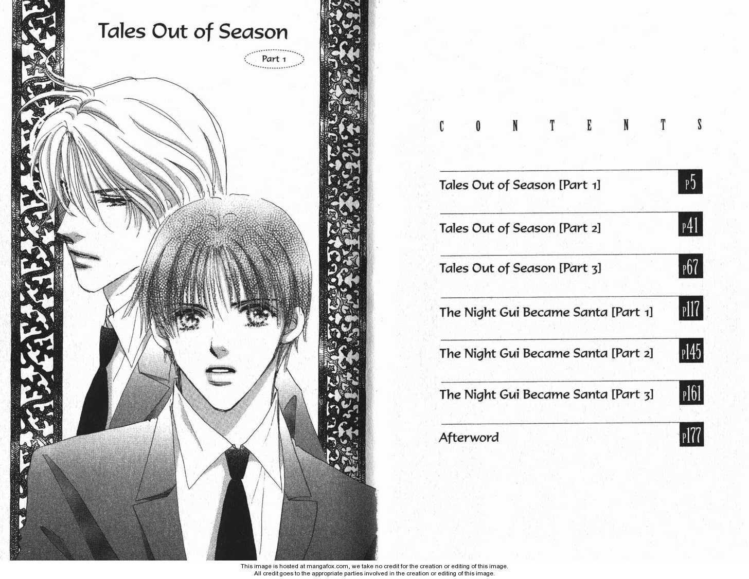 Takumi-kun Series 1 Page 1