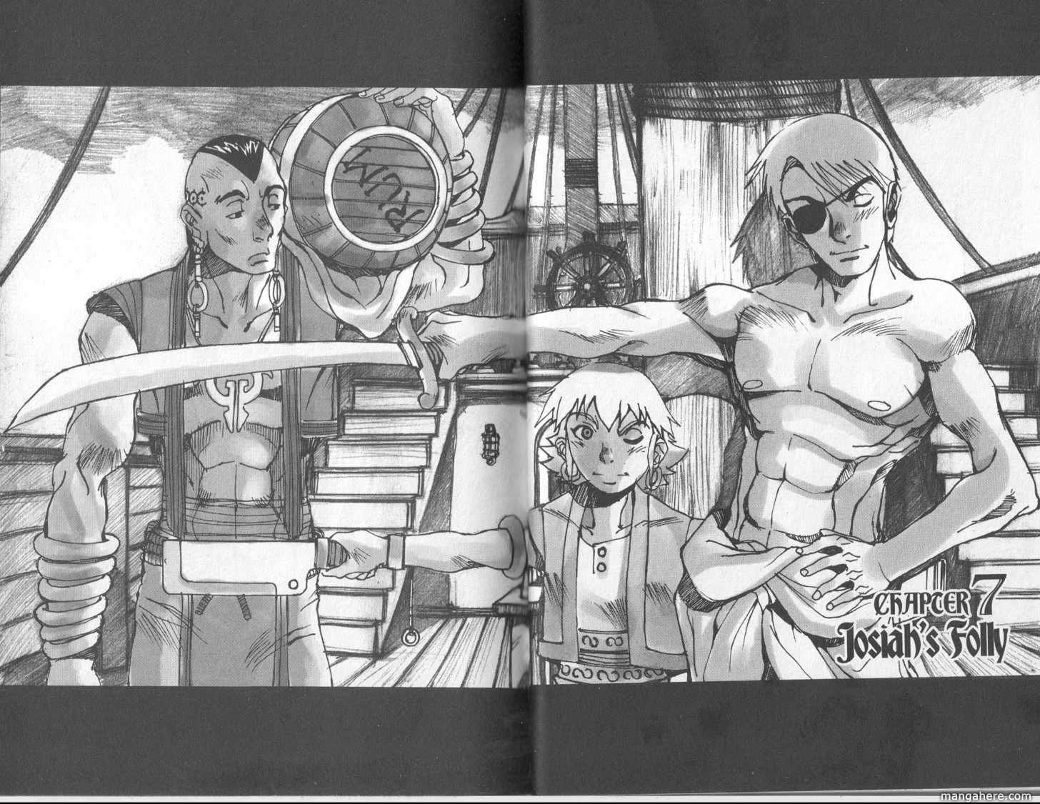 Destiny's Hand 7 Page 1
