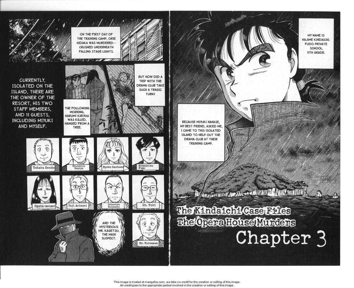 Kindaichi Shounen no Jikenbo 3 Page 1