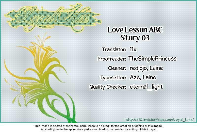 Love Lesson ABC 3 Page 1