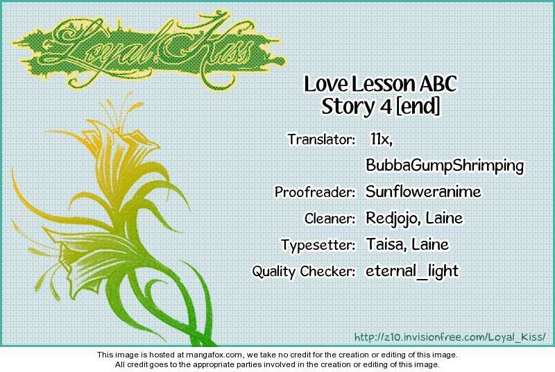 Love Lesson ABC 4 Page 1