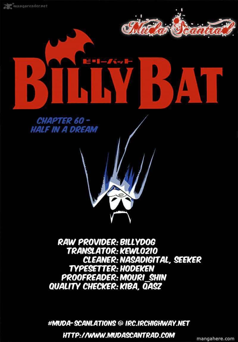 Billy Bat 60 Page 1
