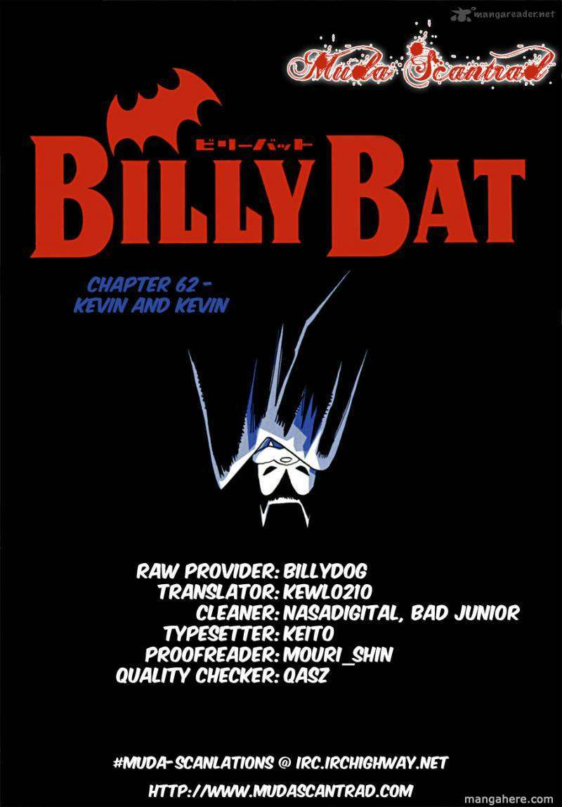 Billy Bat 62 Page 1