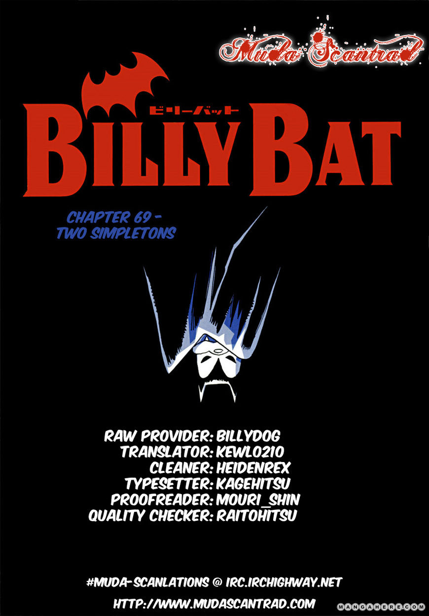 Billy Bat 69 Page 1