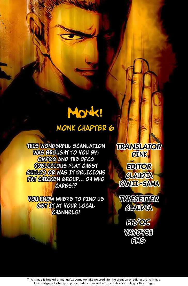 Monk! 6 Page 1