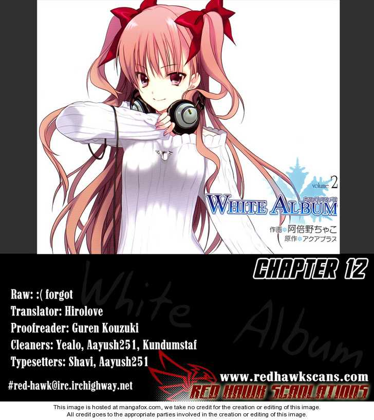 White Album (ABENO Chako) 12 Page 1
