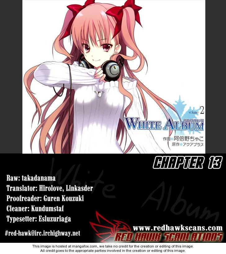 White Album (ABENO Chako) 13 Page 1