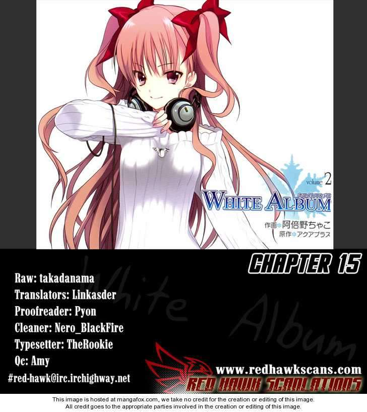 White Album (ABENO Chako) 15 Page 1