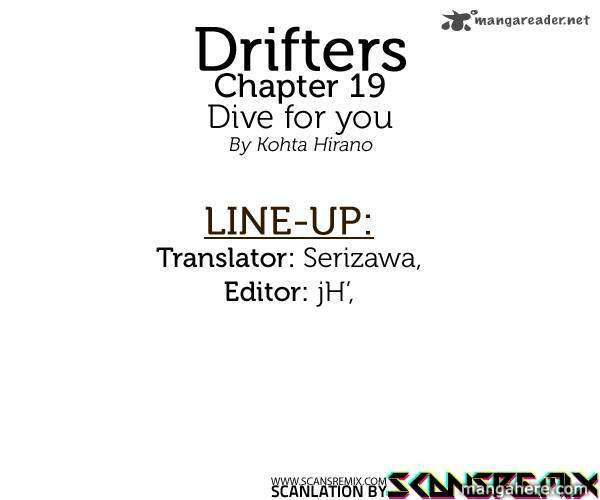 Drifters 19 Page 1
