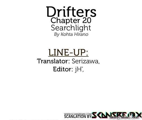 Drifters 20 Page 1