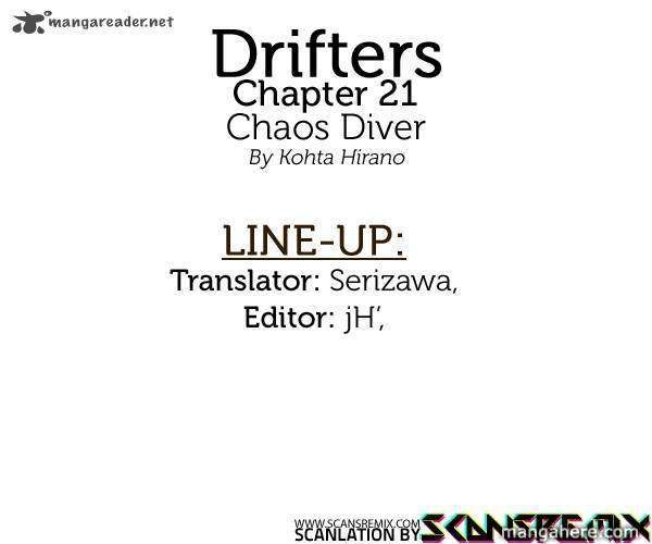 Drifters 21 Page 1