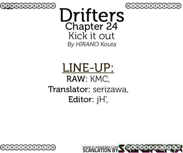 Drifters 24 Page 1