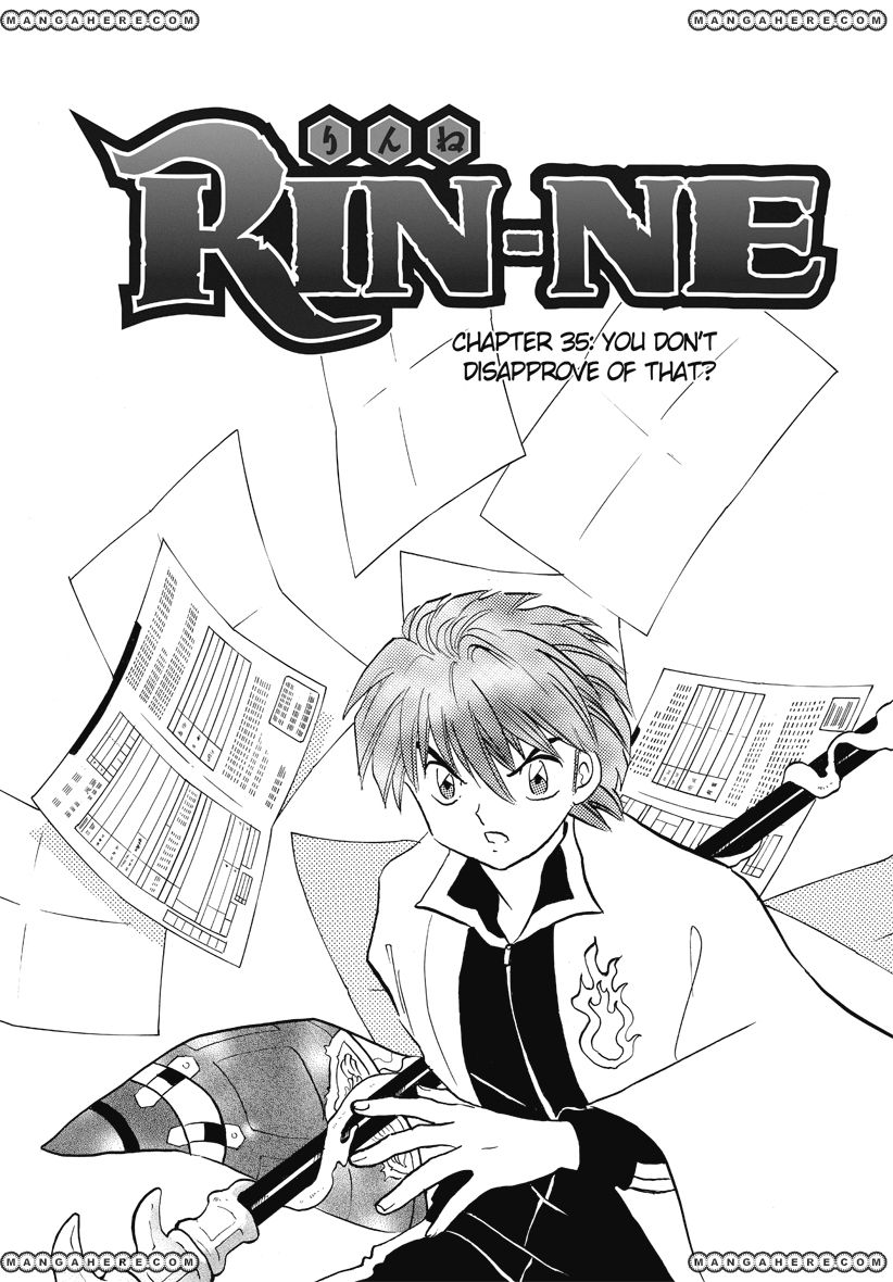Kyoukai no Rinne 35 Page 1