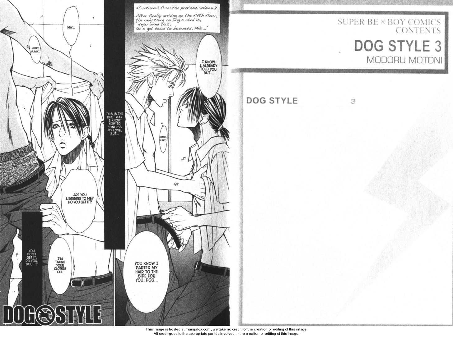 Dog Style 0 Page 1