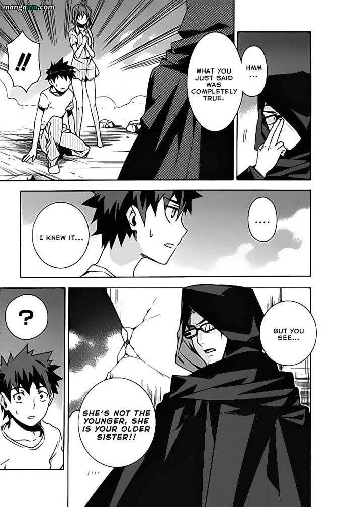 Mahoutsukai to Deshi no Futekisetsu na Kankei 21 Page 3