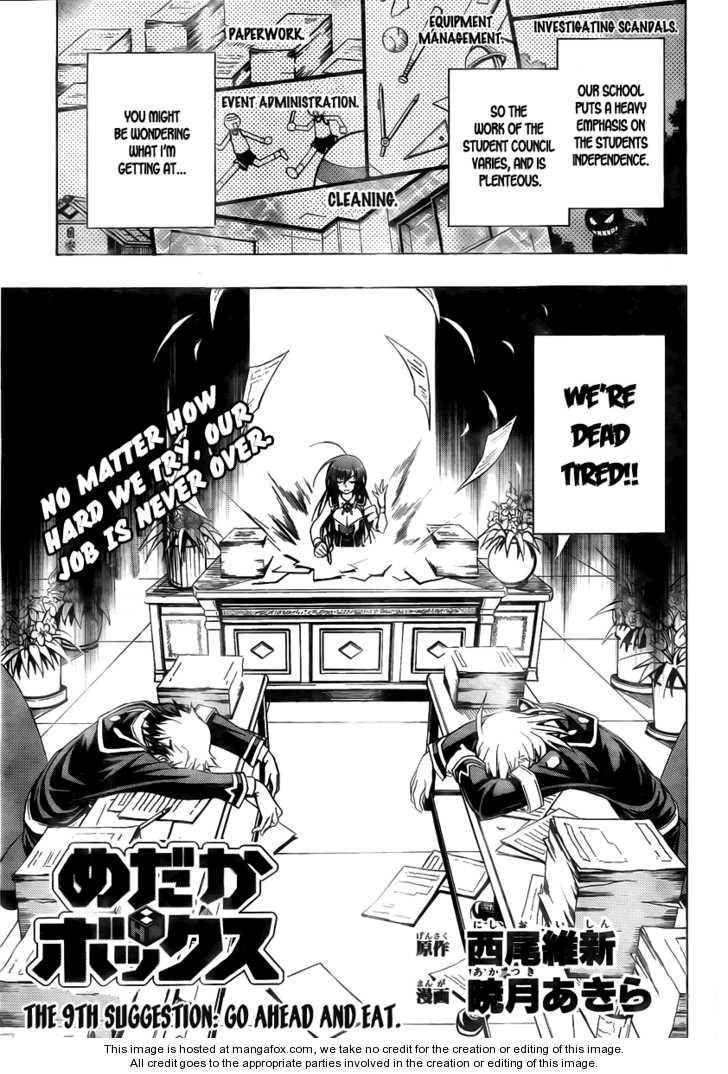 Medaka Box 9 Page 1