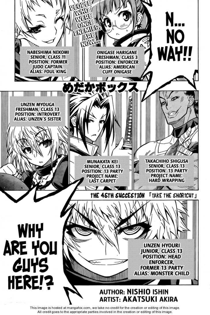 Medaka Box 45 Page 1