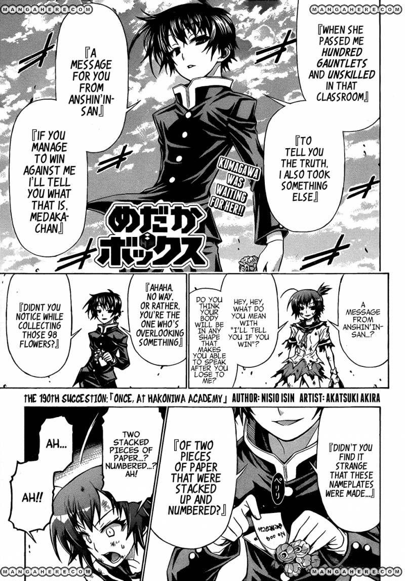 Medaka Box 190 Page 3