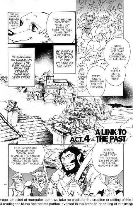 The Legend Of Zelda: A Link to the Past (HIMEKAWA Akira) 4 Page 1