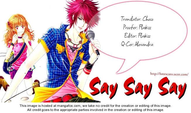 Say Say Say (HWANG Mi Ri) 2 Page 2