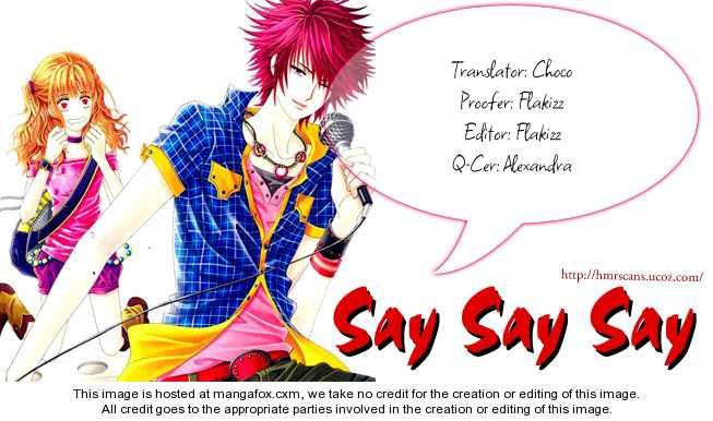 Say Say Say (HWANG Mi Ri) 3 Page 2