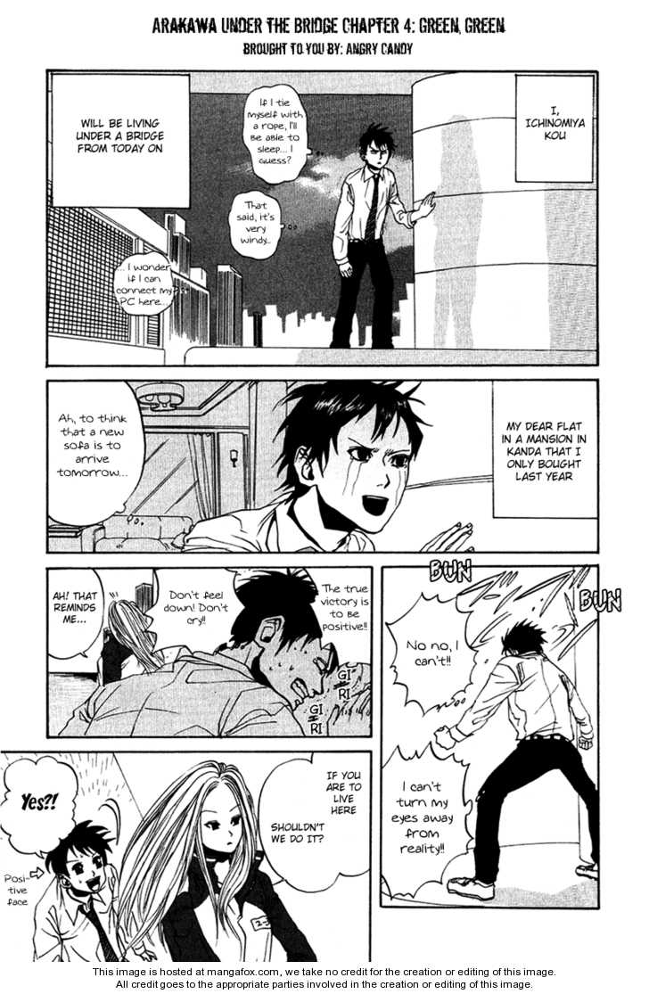Arakawa Under the Bridge 4.5 Page 1