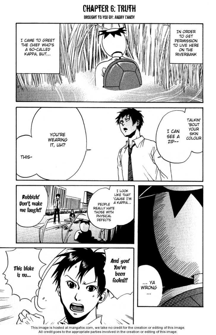 Arakawa Under the Bridge 6 Page 1